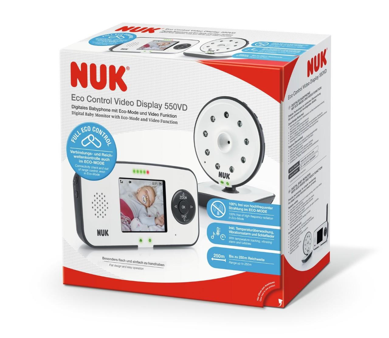 NUK Eco Control Video Display 550VD